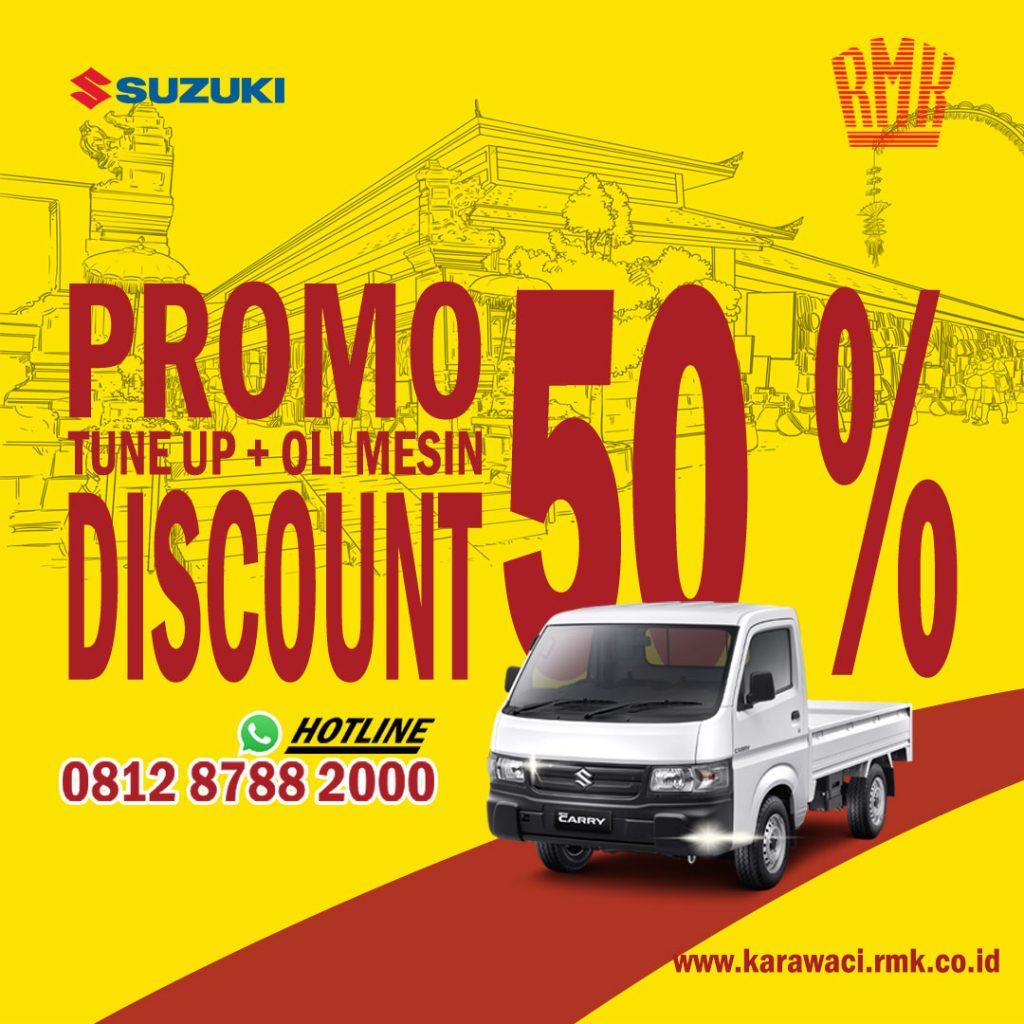 Discount Service 50 Persen
